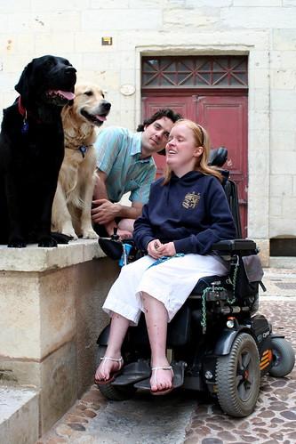 Eiko, Valéas, Maarten and I