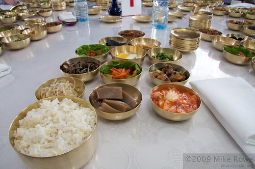 A simple North Korean Lunch