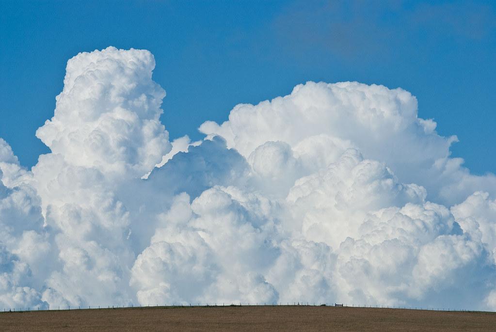 Storm clouds near Beachy Head