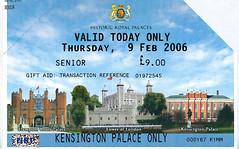 Kensington Palace ticket