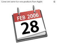 Apple Fun Products Release. Feb 28