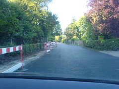 Eversley Roadworks