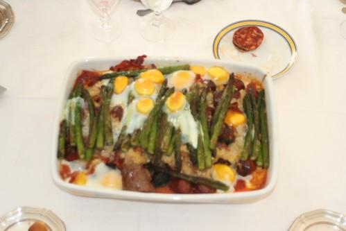 Huevos al Salmorejo