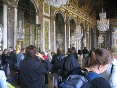Image of the Hall of Mirrors at Versailles