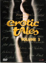 Erotic Tales Vol 3 PAL DVD Front Cover
