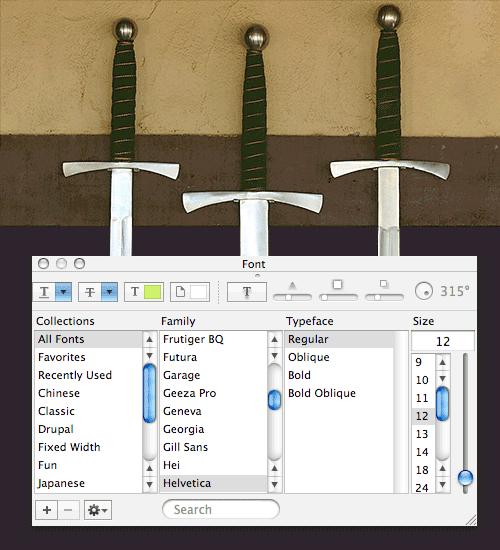 Show Swords