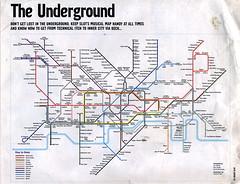 JockeySlut London Underground Musical Map 2