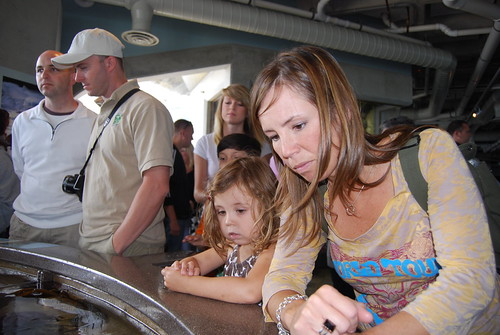Ashby and Tara at Monterey Bay Aquarium