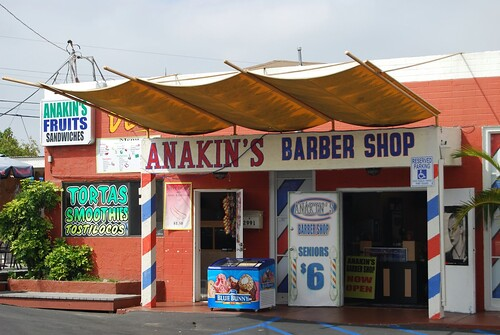 Anakin's Barber Shop