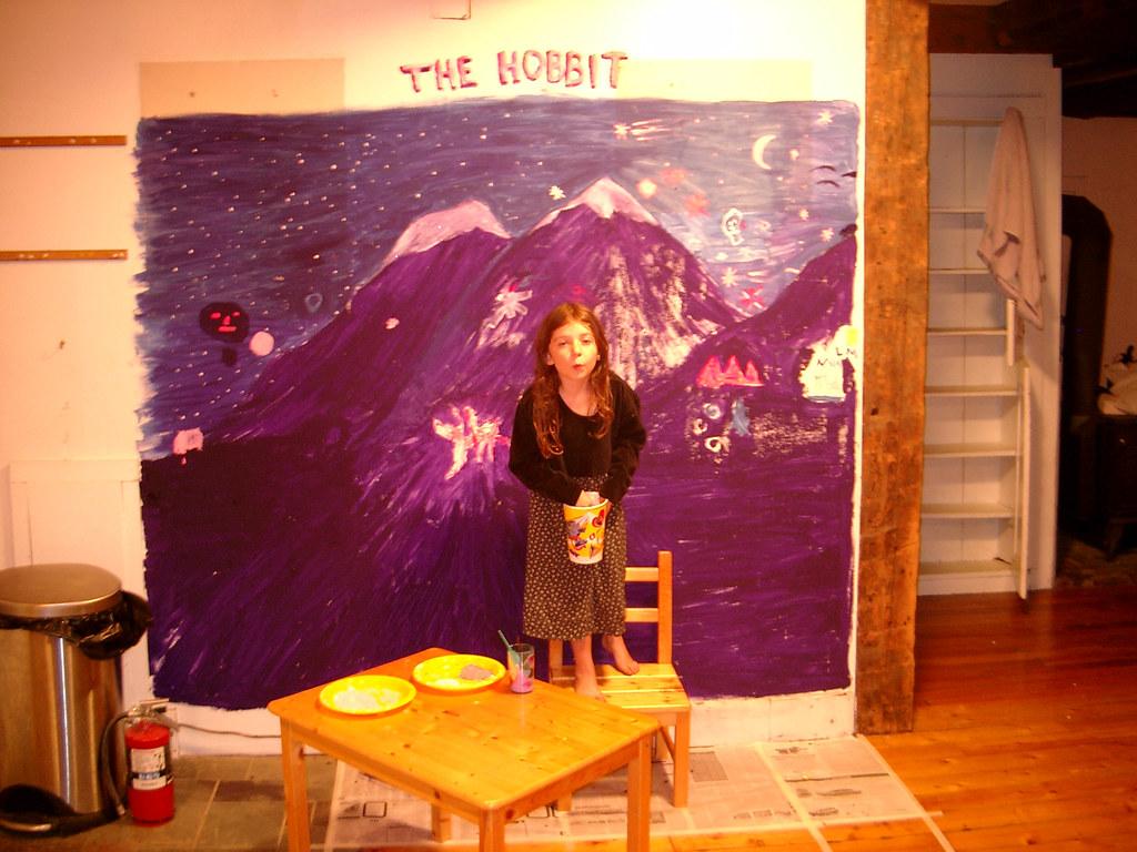 Hobbit Mural