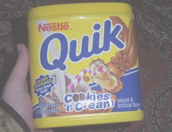 The Shortlived Cookies N' Cream Quik