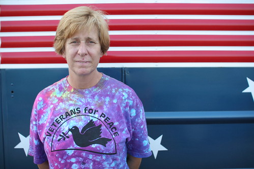 Cindy Sheehan and the Veterans for peace