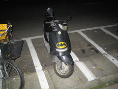 Batman Scooter