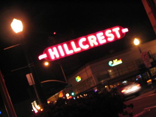 Hillcrest signage