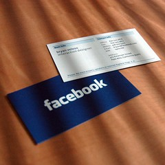 Facebook's New Business Cards (View I)