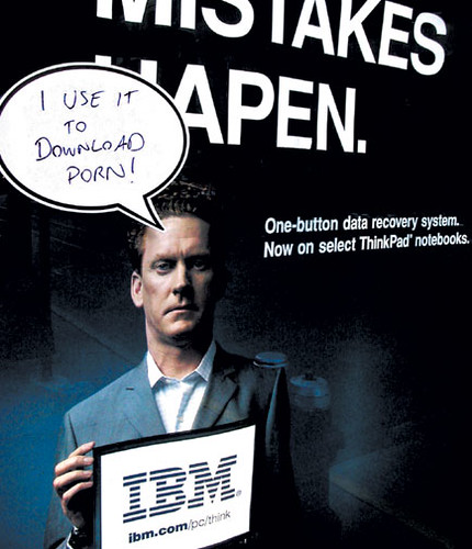 IBM user that used to download porn