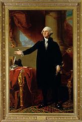 Gilbert Stuart's portrait of George Washington