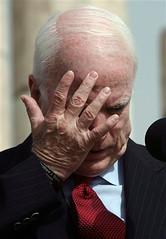McCain Facepalm