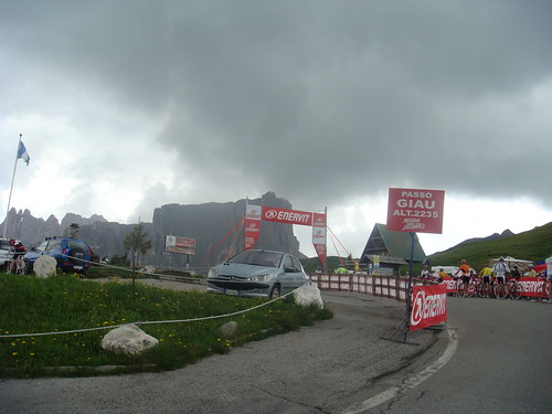 Passo Giau and impending Hail