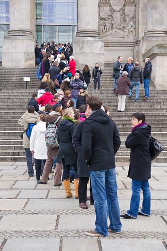 Eilė prie Reichstago