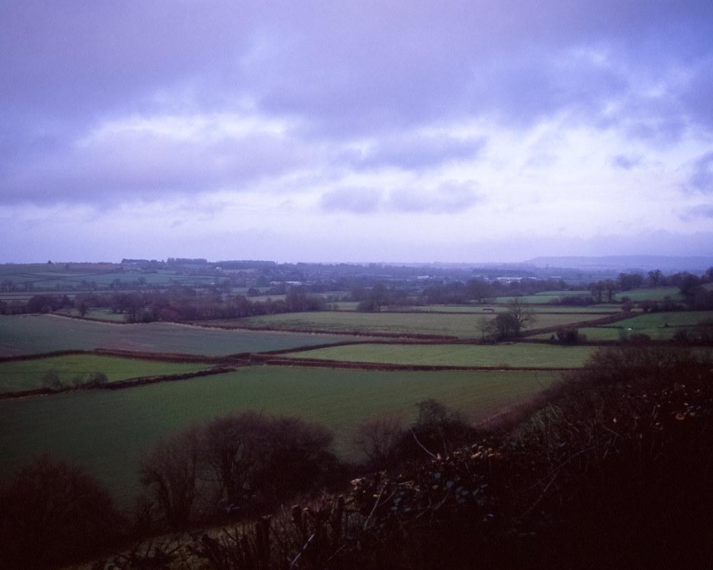 Somerset dusk | Velvia 50 | #32