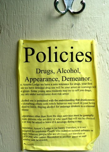 hotel policies