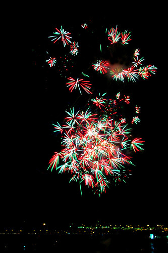 Fireworks from NDP