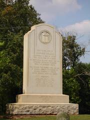 Monument at LaGrange College Site, Leighton AL