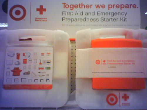 First Aid & Emergency Preparedness Starter Kit @ Target