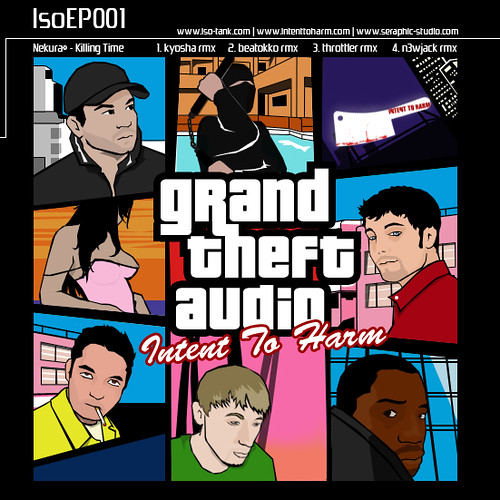 Grand Theft Audio EP cover image