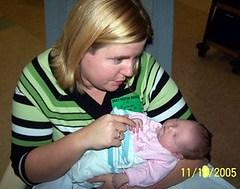 Angela with niece