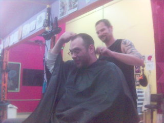 Gazoo getting a Hair Cut
