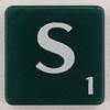 scrabble letter S