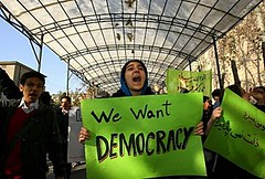 iran students protests in teheran