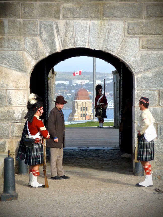 Citadel National Historic Site in Halifax, Nova Scotia
