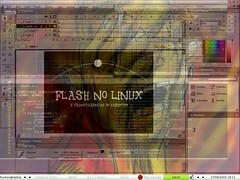 Flash e transparencias XDirectFB