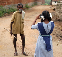 The budding photographer
