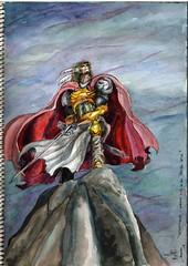 1992 (May) Tor'noh'kqlish - Warrior King of the Tarvarn Nation