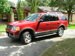 New Ford Explorer July 2005