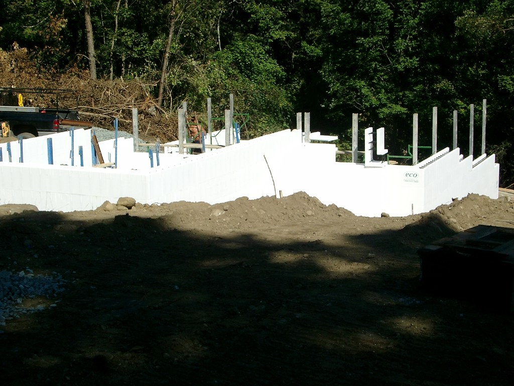 Eco-block walls - 2