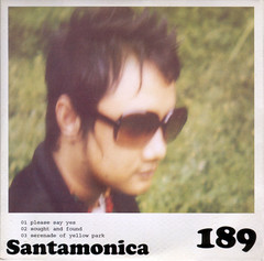 189 EP - Santamonica Back Cover