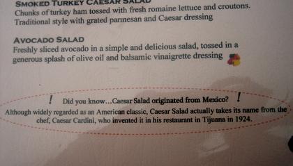 salad trivia