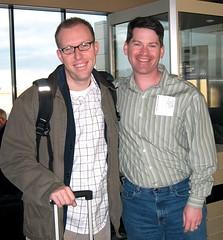Tony Jones & me