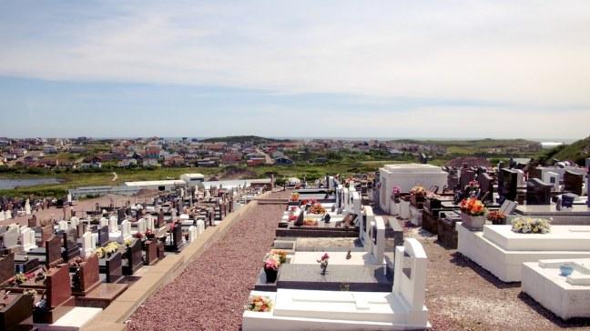 Cemetery in Saint-Pierre