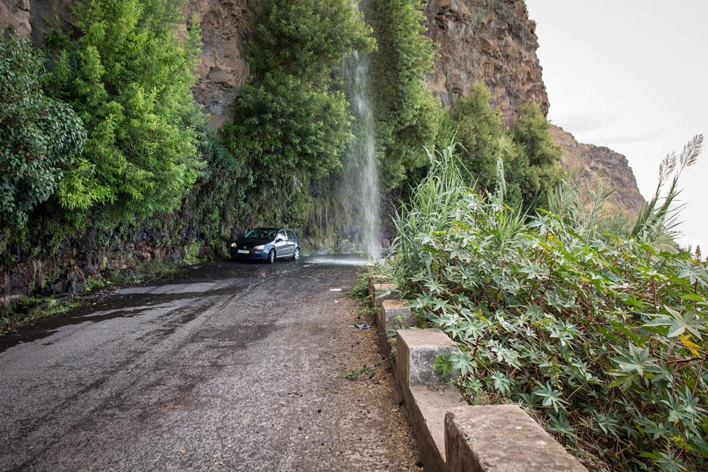 Auf den Straßen Madeiras
