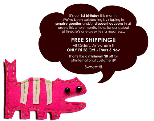 Birthday Free Shipping