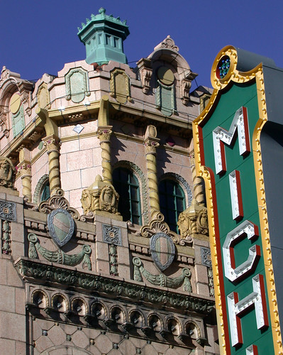 Michigan Theatre detail