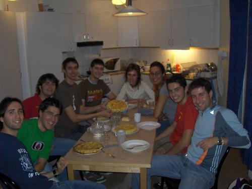 Cena con tortillas!