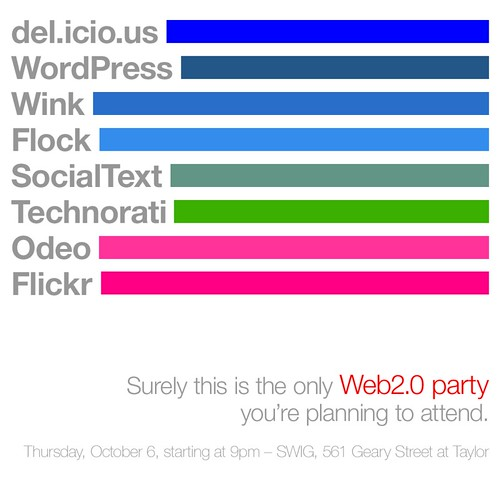The Colors of Web2.0 Party