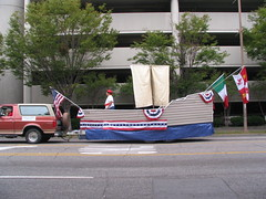 Knights of Columbus float